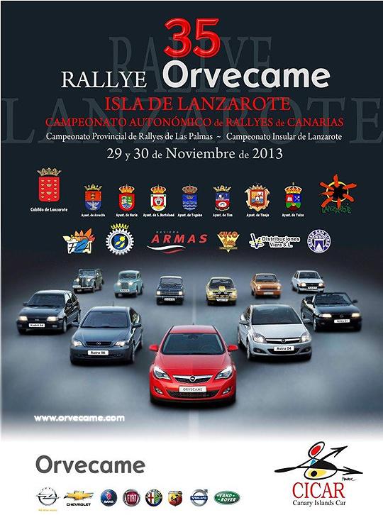 35º Rallye Orvecame-Lanzarote