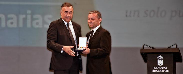 CICAR, Medalla de Oro de Canarias 2014