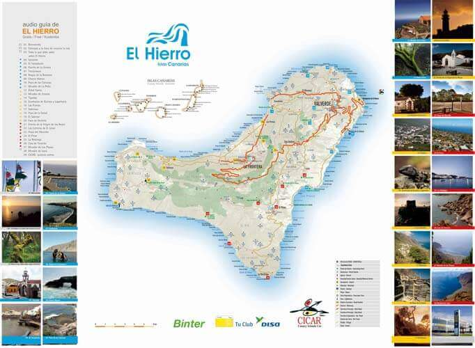 Maps of El Hierro
