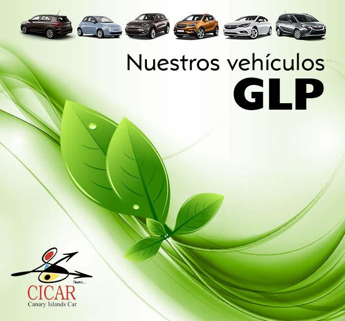 Flota alquiler coches GLP de CICAR