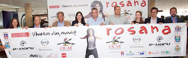 Buenos días, mundo! - Concierto de Rosana patrocinado por Cicar