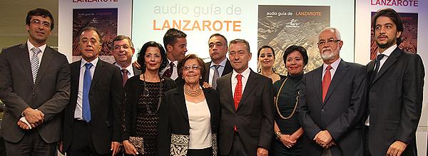 Presentación de la Audio Guía de Lanzarote