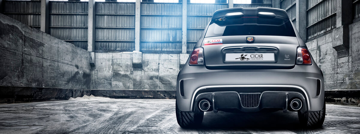 Abarth 500 info for car hire in Canary Islands | CICAR