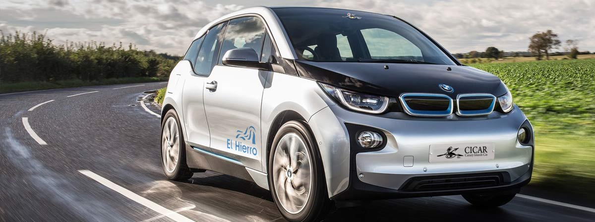 Bmw I3 Electric Info For Car Hire In Canary Islands Cicar