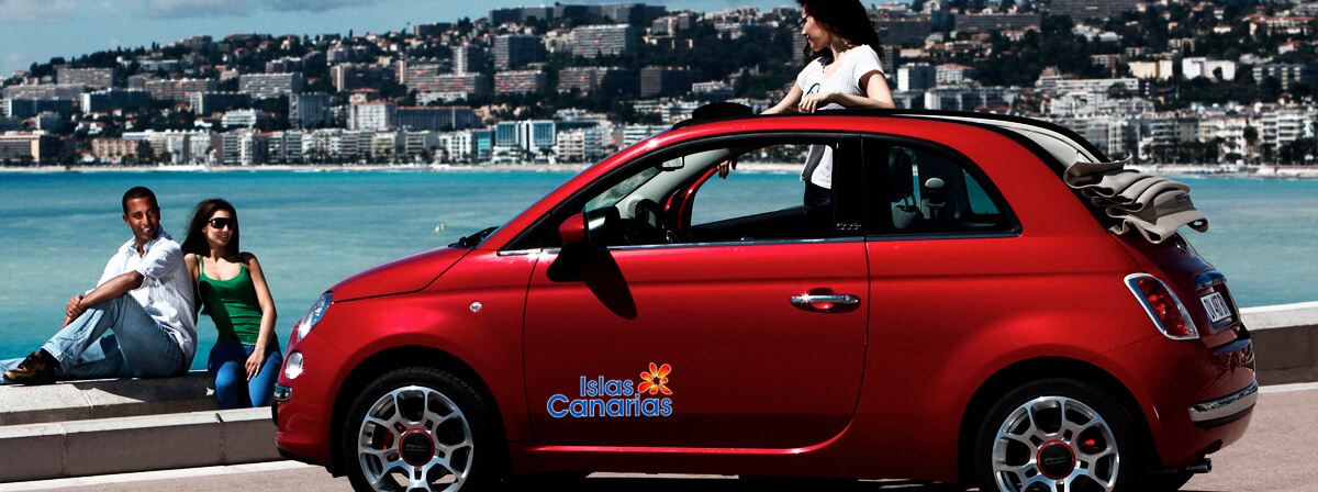 Fiat 500 Cabriolet Info For Car Hire In Canary Islands Cicar