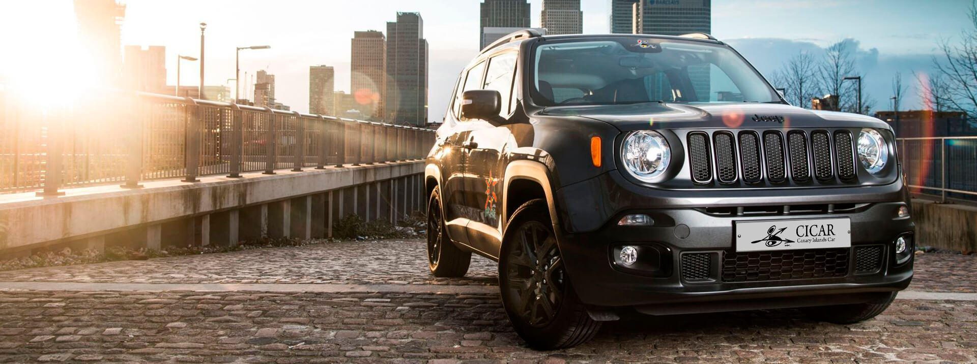 information jeep renegade location voitures les canaries cicar. Black Bedroom Furniture Sets. Home Design Ideas
